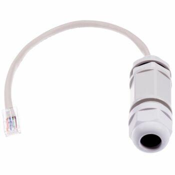 Wetterfeste Ethernet Kabeldurchführung