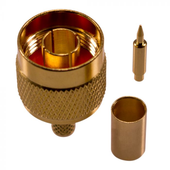 N-Stecker für H155, RF5, RF240 Kabel