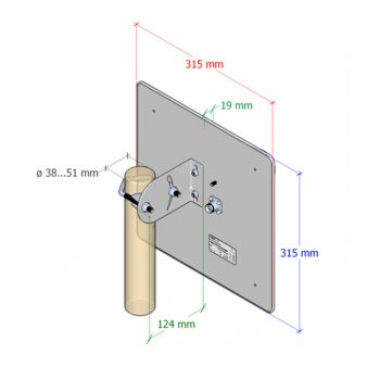 Interline PANEL 17 / IP-G17-F2326-HV