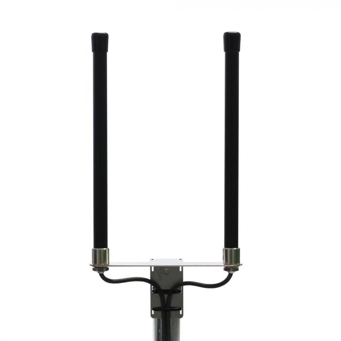 Rundstrahler für LTE Verbindungen - Universl- LTE-Antenne mit schwazem Gehäuse
