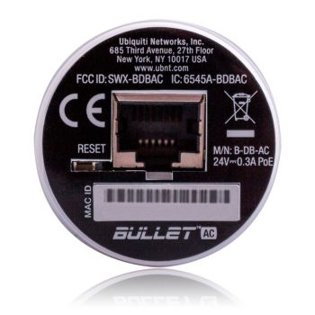 Ubiquiti Bullet AC | 2.4 / 5 GHz, High Power, 802.11AC,...