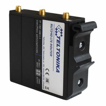 So sieht das TELTONIKA PR5MEC11 an einem RUT240 LTE Router aus