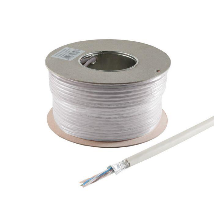 CAT.5e 100m Netzwerkkabel, SF/UTP, CCA, PVC