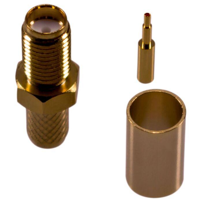 SMA Buchse für RF240 Kabel
