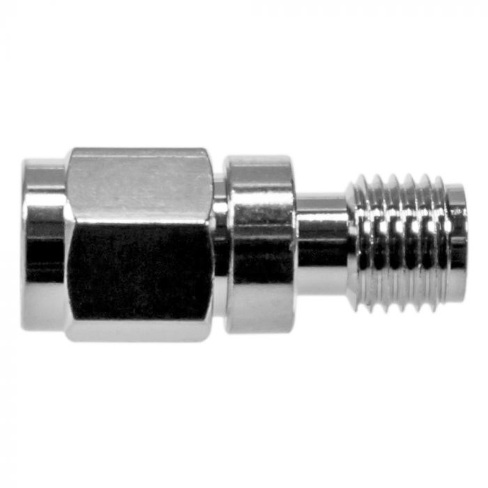 Koaxial Adapter | RP-SMA Stecker auf RP-SMA Buchse | 90° Winkel