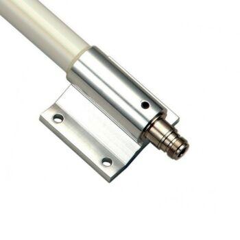 N-Buchse und Montagesystem der ALFA Networks AOA-2415 Antenne