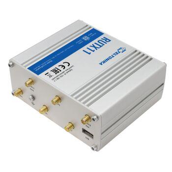 RUTX11 LTE Undustrie Router in Aluminium-Gehäuse mit Dual...