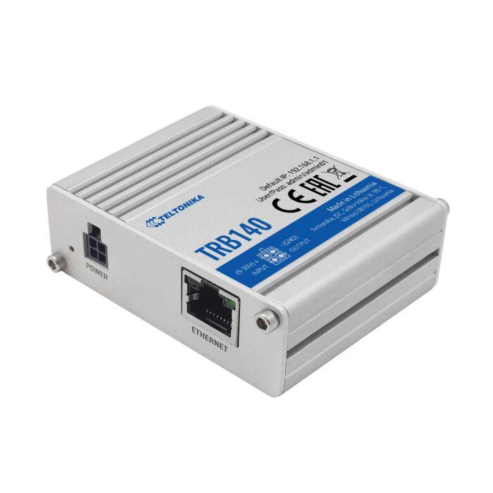 TELTONIKA TRB140 LTE / 4G Gateway - 1 x RJ-45 Port, Aluminium-Gehäuse