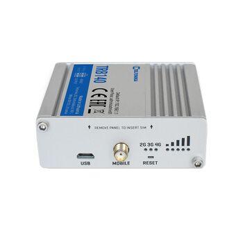 5V USB Anschluss für die Stromversorgung - LED Anzeige der Signalstärke