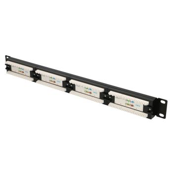 24 Port CAT.6 UTP Patchpanel