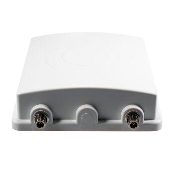 Kabelanschluss an der 4G Panel Antenne