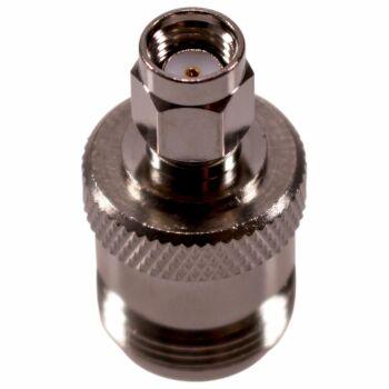 Koax Adapter RPSMA Stecker auf N-Buchse