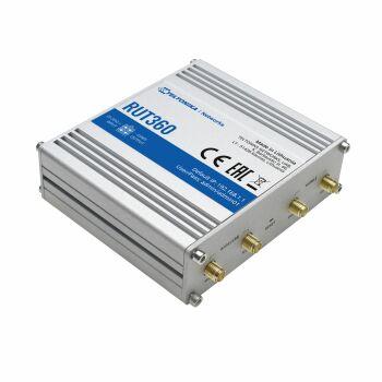 Anschluss für LTE und WLAN Antenne am RUT360 Router