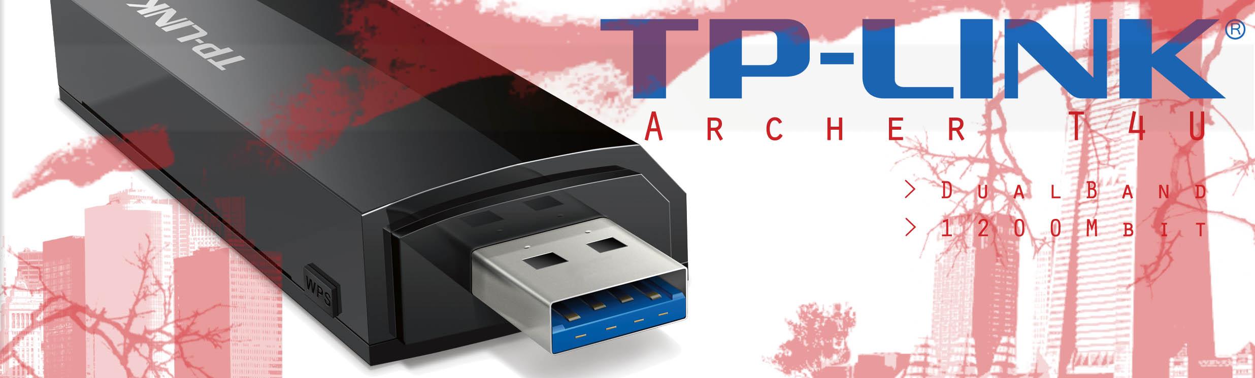TP-Link Archer T4U | 2.4/5 GHz, Dual-Band, US